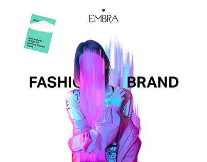 Embra — new website design