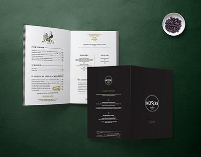 Metsens — branding & interior design