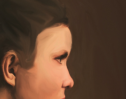 Self portrait .