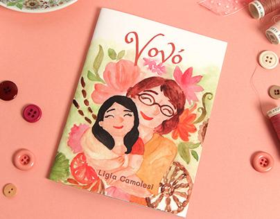 Livro ilustrado Vovó