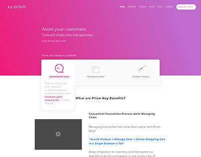 Prism App - Concept