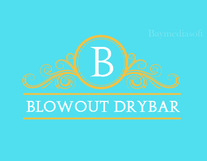 Blowout Drybar | Logo Design