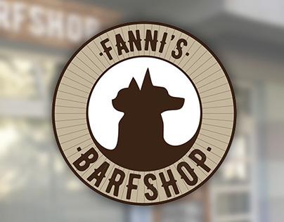 Fanni's Barfshop identity & exterior design