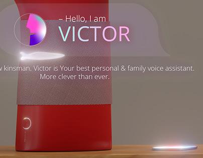 VICTOR – Voice Assistant (concept)