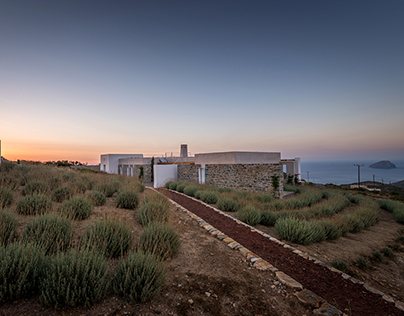 Clover house, Kythira island by R.C. Tech Architects