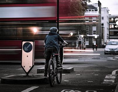 L-bow Rear Bike Light