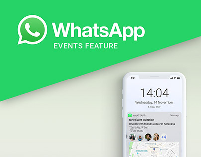 WhatsApp EVENT feature