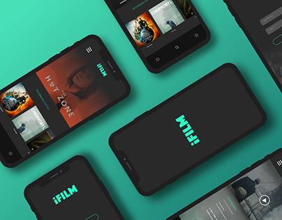 Daily UI #6 Movie App