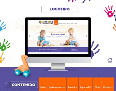 Diseño Website - Mi Terapia