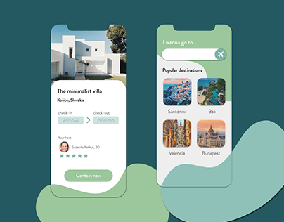 Travel booking App Concept design