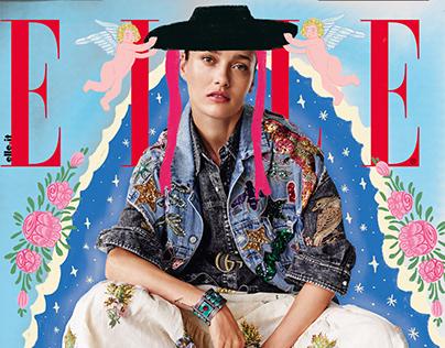 Clorophilla x Elle Magazine
