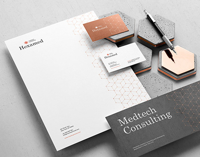 Hexamed Branding Mockup Kit