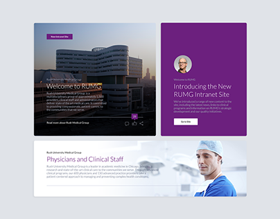 Rush Intranet UX and UI Kit