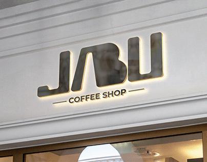 JABU Coffee Shop Logo Design