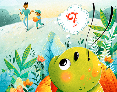 "Children's book ""What will Cal Caterpillar be?"""