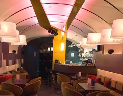 INCOGNITO café & bar / interior design 2009