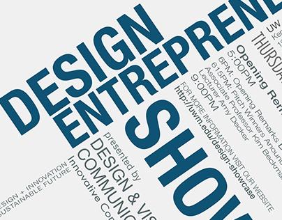 Design Entrepreneur Showcase Axial Posters