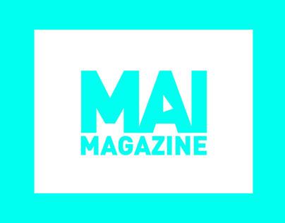 MAI MAGAZINE Logo Animation