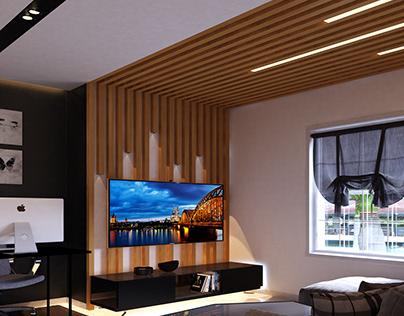 c o n t r a s t | Living Room Design