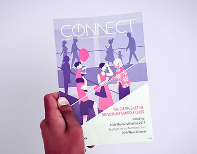 Connect Magazine - Illustration