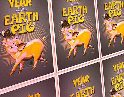 Happy Year of the Earth Pig, and Piglets!