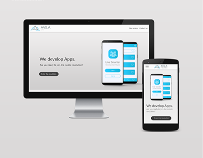 Avila IT Solutions - Branding & UI/UX