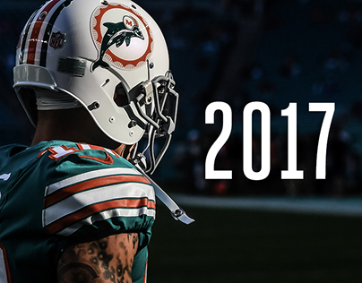 2017 Miami Dolphins Creative