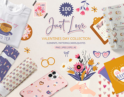 Just Love-Valentines Day Graphic Collection