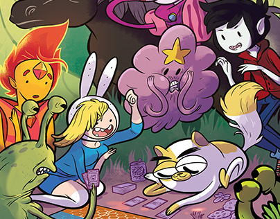Adventure Time Card Wars Cover