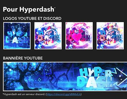 Hyperdash Logos and Banner