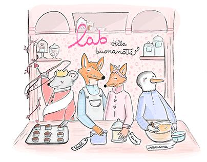 The fox Occhi Ovunque   Children's book