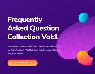 Frequently Asked Question Collection Vol:1