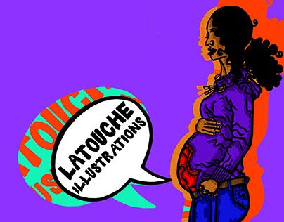 LaTouche Illustrations - Branding & Self Identity