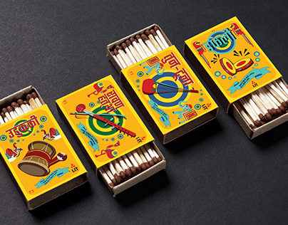 Matchbox Design | Forgotten Instruments of India