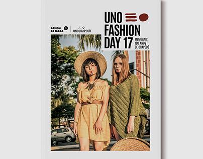 Projeto Editorial: Revista Uno FashionDay 2017