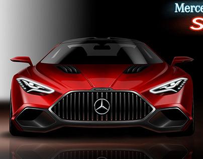 Mercedes SLS AMG (video)
