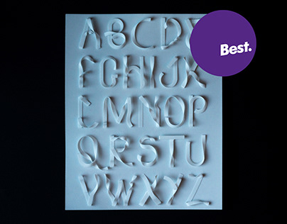 Paperesque - 3D Printed Type