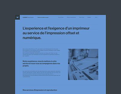 Launay imprimerie — website
