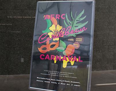 Afro-Caribbean Carnaval Poster