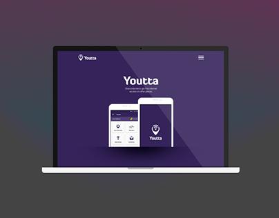 Youtta Landing Page