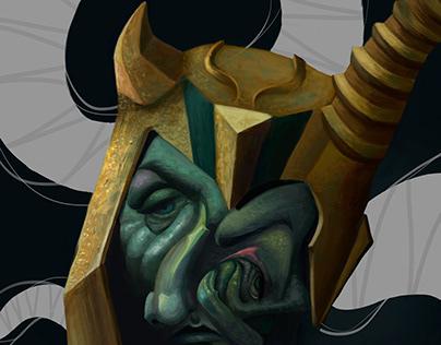Loki, o deus da trapaça e das travessuras
