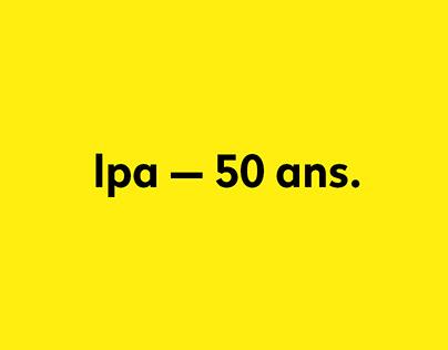 LPA — 50 ans