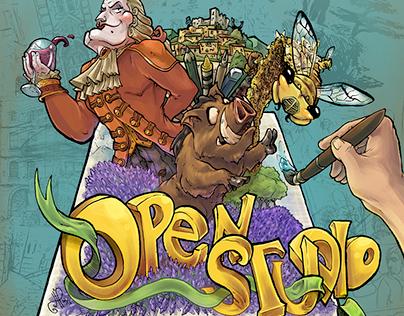 Lacoste Open Studio Poster