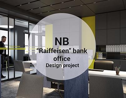 """""""Raiffeisen"""" bank office"""