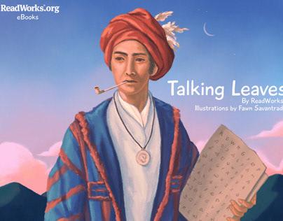 talking leaves (ebook illustrations)
