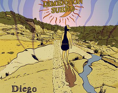 """Arte y diseño / Ilustración : Disco de """"Diego Bisio"""""""