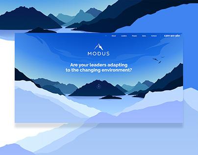 Modus Leadership Development Website