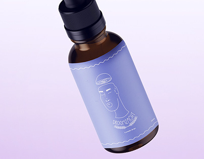 Lavender drops branding 'Droomzacht'