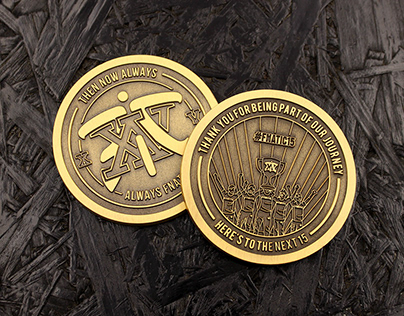 Fnatic XV Coin