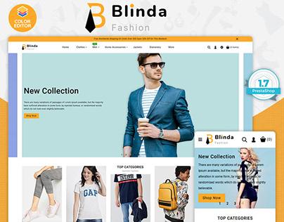 Blinda - The Fashion PrestaShop Theme